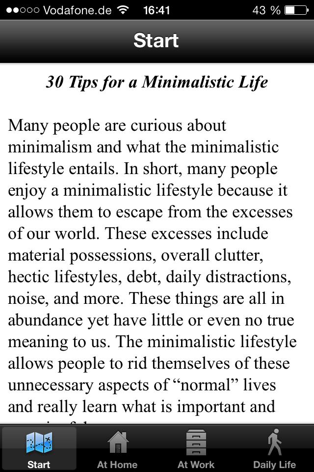 Minimalist_App