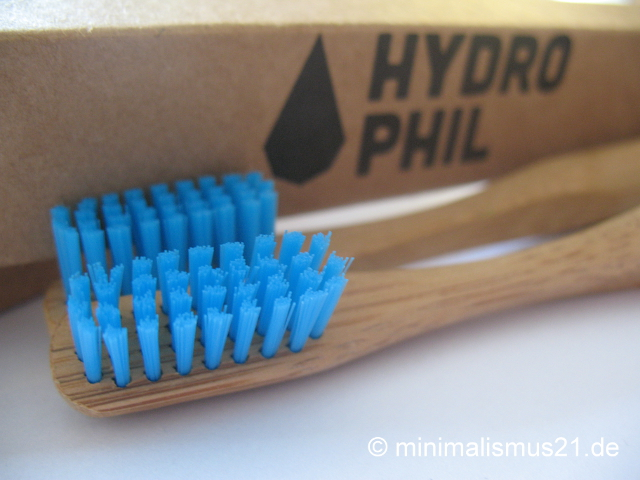Doppelt nachhaltig: Verpackung und Zahnbürsten von HYDROPHIL