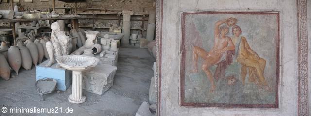 Pompeji: gestern und heute