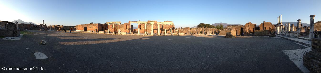 Pompeji aus der Rundum-Perspektive